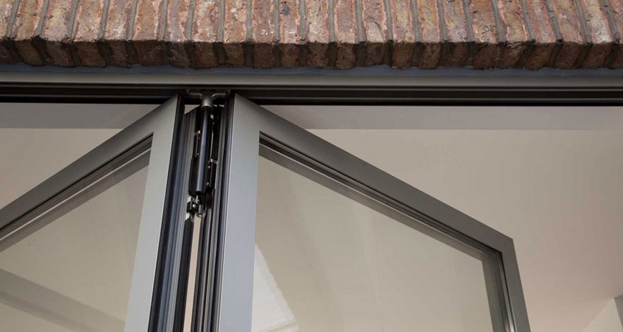 Reynaers CF 77 Aluminium Bifold Doors-2
