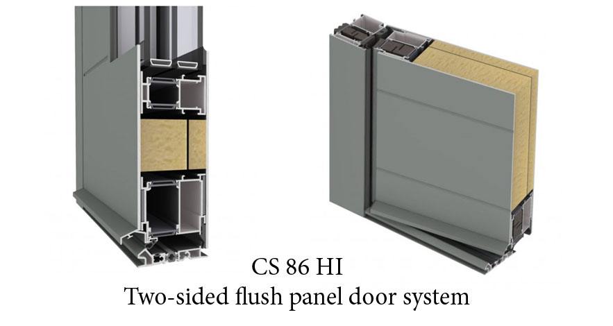 Reynaers CS 86 HI Panel Doors-2