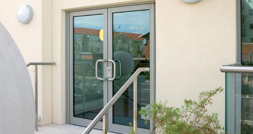 Reynaers Vision 50 Aluminium Entrance Doors-1