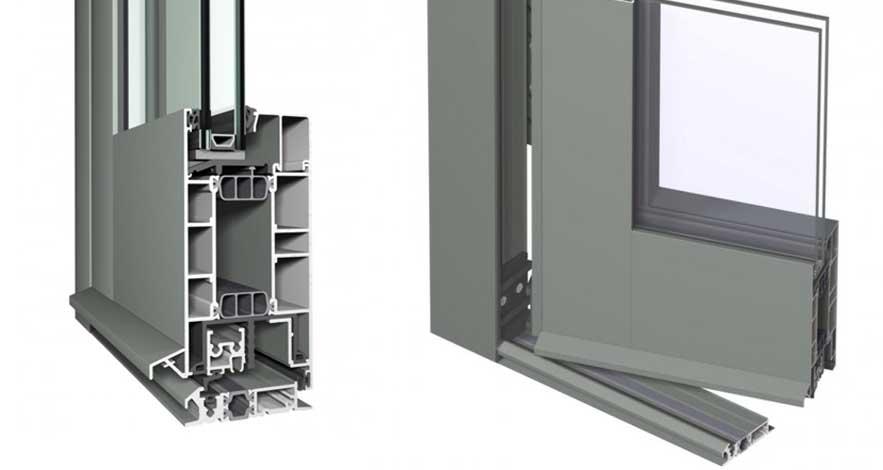 Reynaers CS 77 Aluminium Casement Glass Doors-5