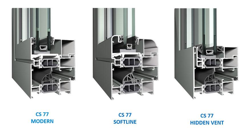 Reynaers CS 77 Aluminium Windows-7