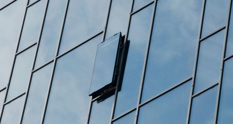 Reynaers CW 50 Aluminium Curtain Wall System-3