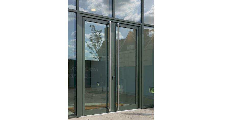 Reynaers Vision 50 Aluminium Entrance Doors-2