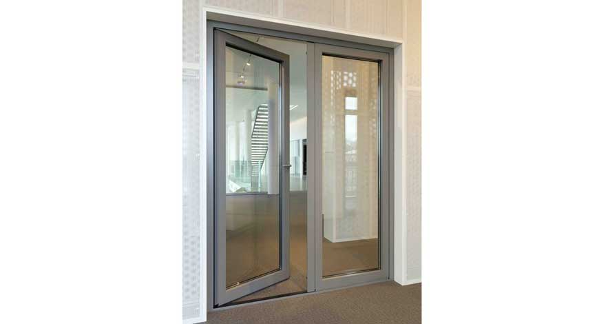 Reynaers Masterline 8 Glass Entrance Doors-4