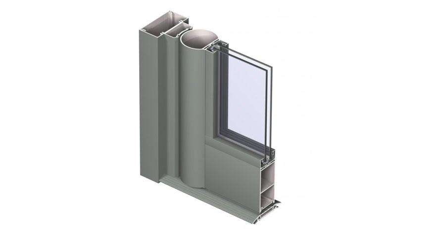 Reynaers Vision 50 Aluminium Entrance Doors-5