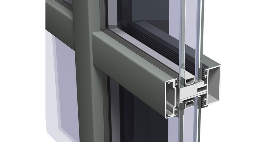 Reynaers CW 50-FP Fire Resistent Curtain Wall System-1
