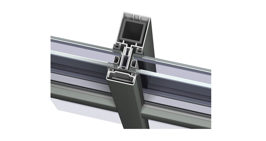 Reynaers CW 50-FP Fire Resistent Curtain Wall System-2