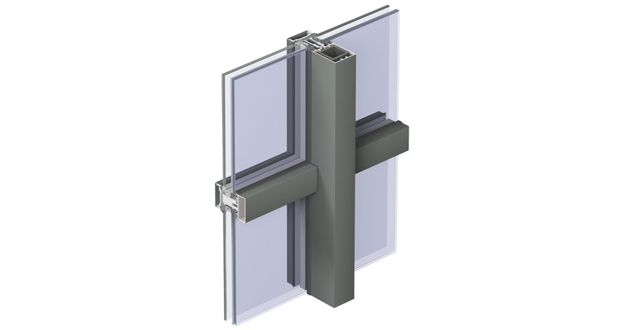 Reynaers CW 50-FP Fire Resistent Curtain Wall System-3