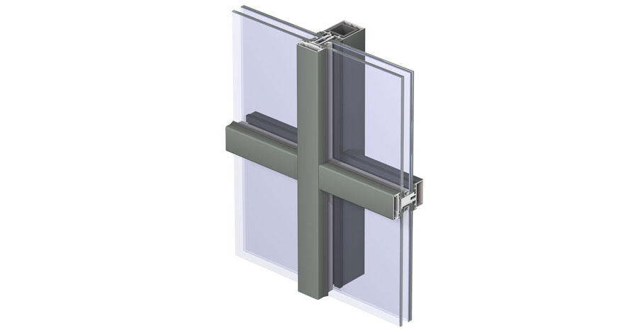 Reynaers CW 50-FP Fire Resistent Curtain Wall System-4