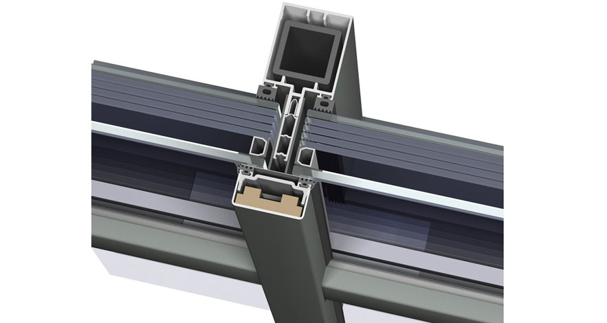 Reynaers CW 50-FP Fire Resistent Curtain Wall System-6