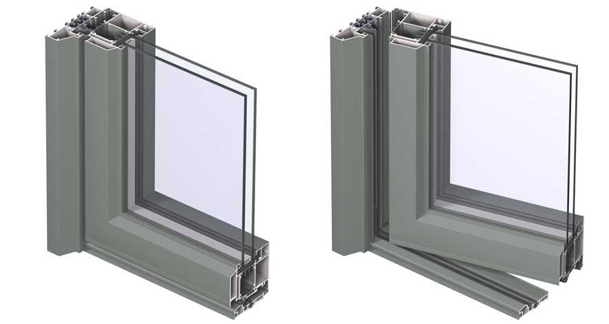 Reynaers SlimLine 38 Aluminium Doors-3