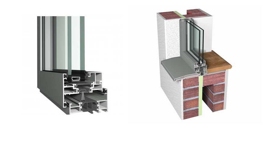 Reynaers SlimLine 68 Aluminium Windows-1